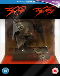 300 / 300: Rise of an Empire Collection - 3-Disc Box Set with Spartan Helmet Resin Statue (Blu-Ray)
