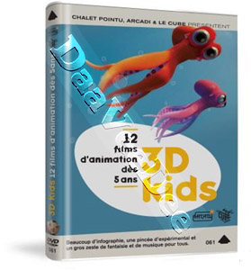 3D Kids - 12 Films Animated Collection (DVD)