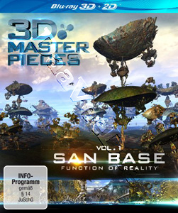 3D Masterpieces: San Base - Function of Reality (Vol. 1) (Blu-Ray)