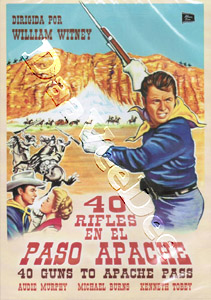 40 Guns to Apache Pass (DVD)