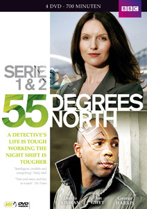 55 Degrees North (Series 1 & 2) - 4-DVD Box Set (DVD)