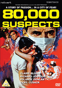 80,000 Suspects  (1963) (DVD)