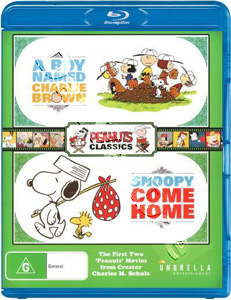 A Boy Named Charlie Brown / Snoopy Come Home (Blu-Ray)