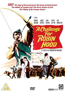 A Challenge for Robin Hood (1967)  (DVD)