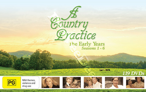 A Country Practice: The Early Years (Seasons 1-6) - 119-DVD Box Set (DVD)