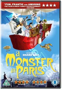 A Monster in Paris (2011) (DVD)