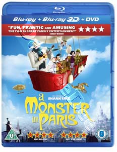A Monster in Paris  (Blu-Ray)