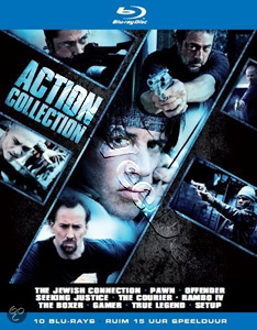 Action Collection - 10-Disc Box Set (Blu-Ray)