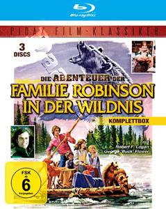 The Adventures of Robinson Family in the Wilderness (Complete Collection) - 3-Disc Set (Blu-Ray)