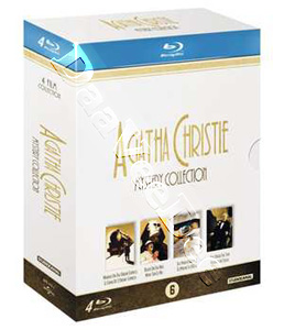 Agatha Christie (Mystery Collection) - 4-Disc Box Set (Blu-Ray)