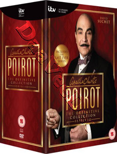 Agatha Christie: Poirot - The Definitive Collection (13 Series) - 35-DVD Box Set (DVD)