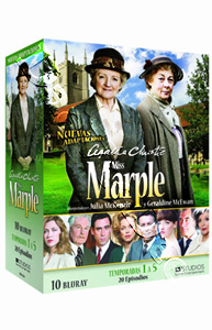 Agatha Christie's Miss Marple (Seasons 1-5) - 10-Disc Box Set (Blu-Ray)