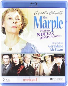 Agatha Christie's Miss Marple Adaptations - Season 1 (4 Films) - 2-Disc Set (Blu-Ray)