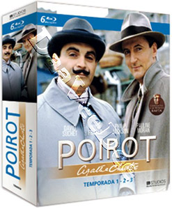 Agatha Christie's - Poirot (Season 1-3) - 6-Disc Box Set (Blu-Ray)
