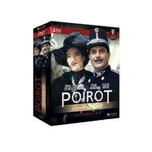 Agatha Christie's - Poirot (Season 4-6) - 5-Disc Box Set (Blu-Ray)