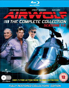 Airwolf Complete Collection (Season 1-3) - 11-Disc Box Set (Blu-Ray)