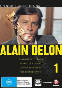 Alain Delon Collection (Vol. 1) - 4-DVD Set (DVD)