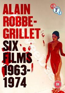 Alain Robbe-Grillet Collection 1963-1974 (6 Films) - 5-DVD Box Set (DVD)