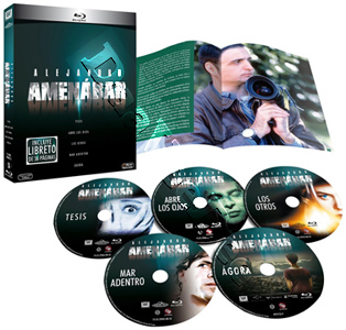 Alejandro Amenábar Collection - 5-Disc Set (Blu-Ray)