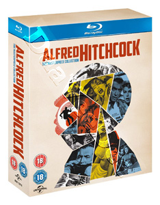 Alfred Hitchcock - The Masterpiece Collection - 14-Disc Box Set (Blu-Ray)