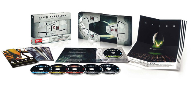 Alien Anthology - 35th Anniversary Edition (4 Films) - 6-Disc Box Set (Blu-Ray)