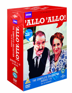 Allo Allo! (Complete Collection - Series 1-9) - 16-DVD Box Set (DVD)