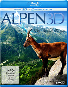 Alps 3D - Paradise of Europe (Blu-Ray)