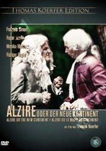 Alzire or the New Continent (DVD)