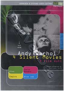 Andy Warhol - 4 Silent Movies (DVD)