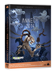 Annecy Awards 2014 (12 Short Films) (DVD)