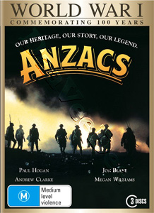 Anzacs - 3-DVD Set (DVD)