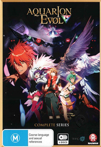 Aquarion EVOL Complete Series 4-DVD Set