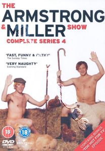 Armstrong and Miller - Complete Series 4 (DVD)