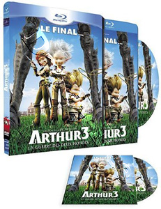 Arthur 3: The War of the Two Worlds (2010) (Blu-Ray)