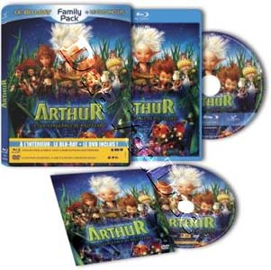 Arthur and the Revenge of Maltazard (2009) (Blu-Ray)