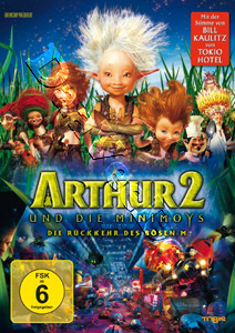 Arthur and the Invisibles 2 (2009) (DVD)