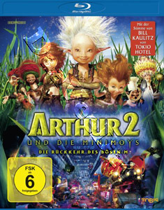 Arthur and the Invisibles 2 (GER) (Blu-Ray)