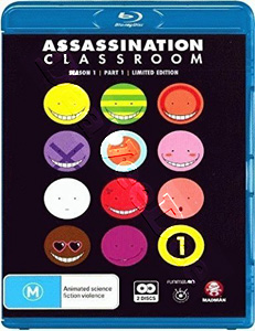 Assassination Classroom: Season 1 Part 1 (Episodes 1-11)
