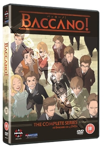 Baccano! (Complete Collection) - 4-DVD Box Set (DVD)