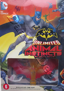 Batman Unlimited: Animal Instincts with Fire Bat figurine