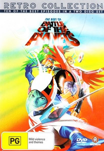 Battle of the Planets (The Best Of) - 2-DVD Set (DVD)