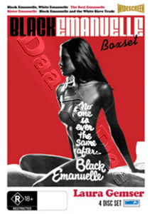 Black Emmanuelle Collection - 4-DVD Set (DVD)