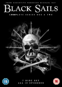 Black Sails (Complete Seasons 1 & 2) - 7-DVD Box Set (DVD)