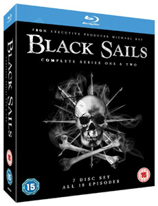 Black Sails (Complete Seasons 1 & 2) - 7-Disc Box Set (Blu-Ray)