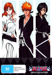 Bleach Movie Collection 4-DVD Box Set (DVD)