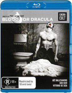 Blood for Dracula ( 1974 ) (Blu-Ray)