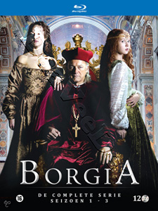 Borgia (Complete Series 1-3) - 10-Disc Box Set (Blu-Ray)