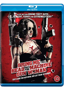 Bring Me the Head of the Machine Gun Woman ( 2012 ) (Blu-Ray)