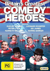 Britain's Greatest Comedy Heroes - 5-DVD Set