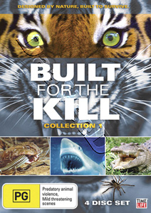 Built for the Kill - Collection 1 - 4-DVD Set (DVD)